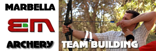 Archery in Marbella, Archery Costa del Sol, Archery n Spain, Team building, Corporate activities