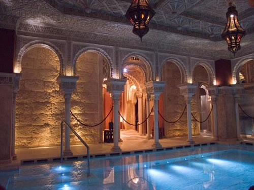 Relax in The Hammam Arab Baths