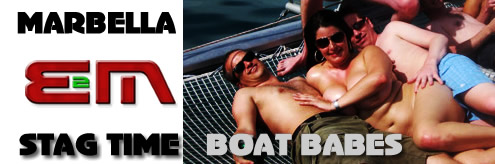 Stag Weekends, Stag Nights in Marbella, Costa del Sol, Spain, Boat cruises