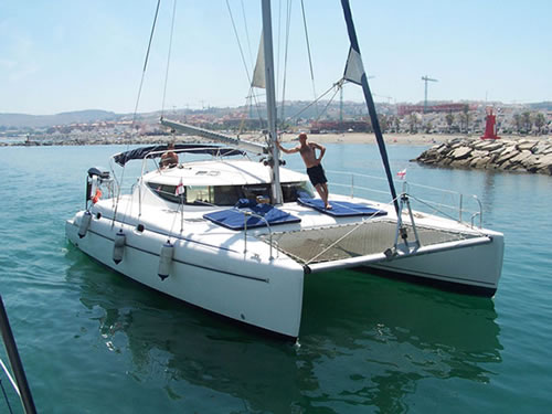 Catamaran Ideal for Entertaining