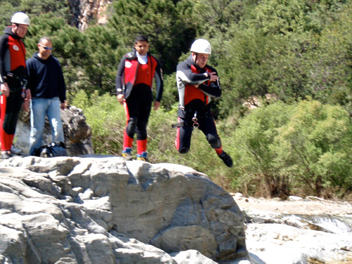 Canyoning in Benahavis