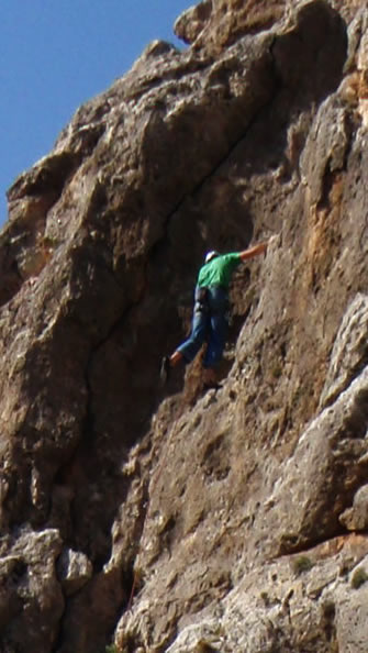 Ferrata Rock Climbing on the Costa del Sol, Spain, Marbella and Torcal