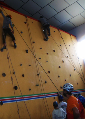 Indoor climbing, rock climbing activities in Costa del Sol, Marbella, Spain