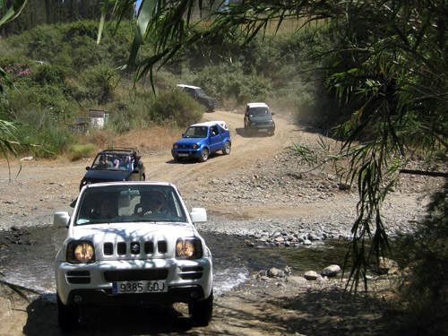 Self drive Jeep tours