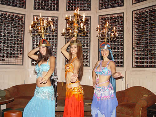 Moroccan Event in Marbella - The Belly Dancers Arrive