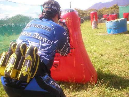 Paintball in Marbella - Take Cover!