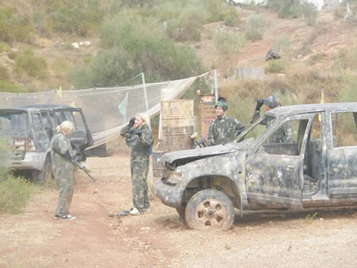 Paintball in Marbella - A Popular Activity for Stag & Hen Parties