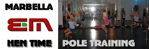 Pole Dancing Hen nights, Marbella, Costa del Sol, Spain, Hen Weekends