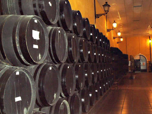 Wine & Tapas Tasting in Marbella - Oak Barrels used in the Maturing Process
